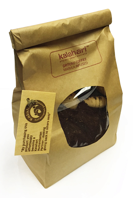 Kalahari Ground Coffee Marula Infused